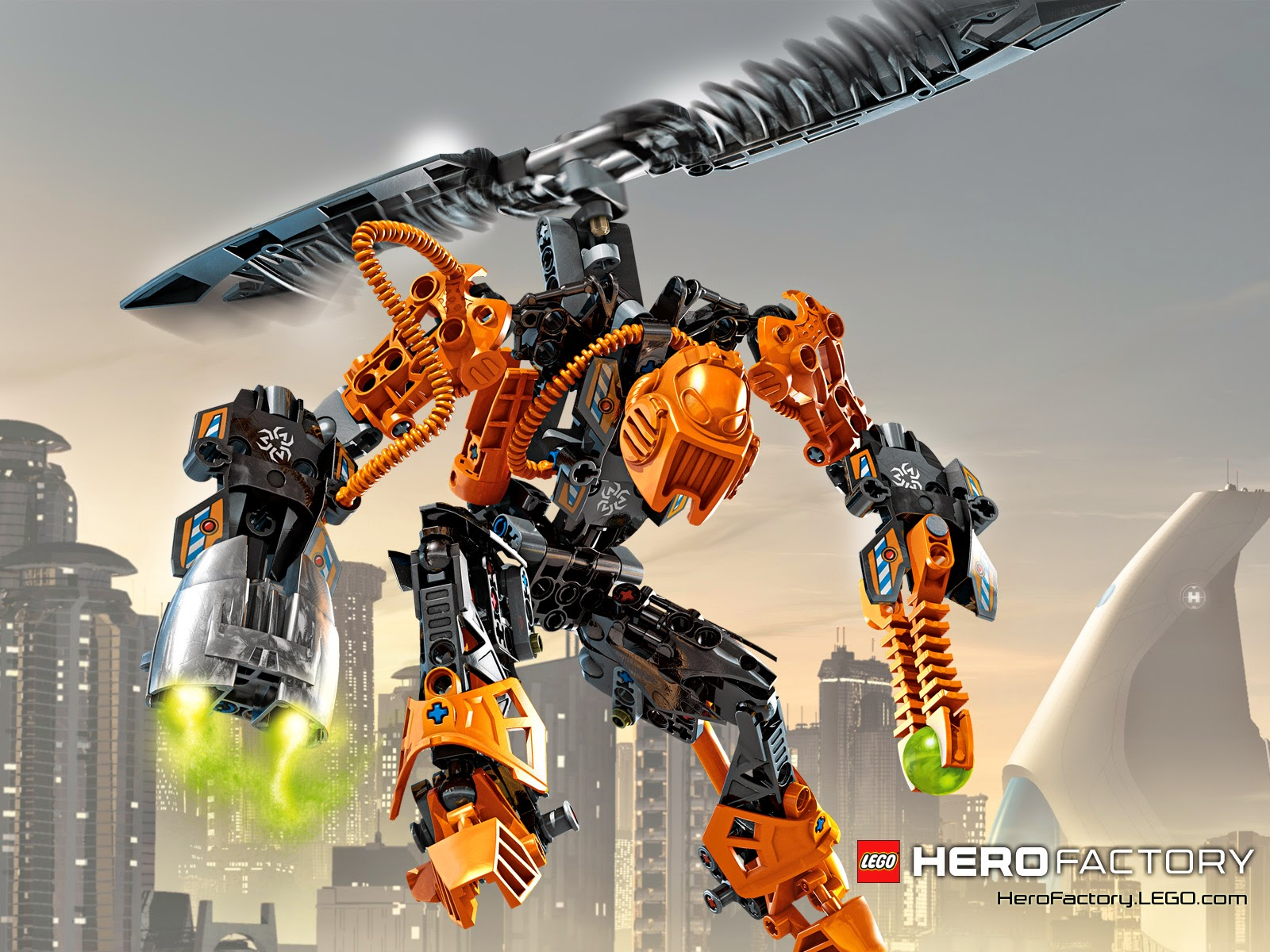 My Interest: Lego Hero Factory Rise of the rookies