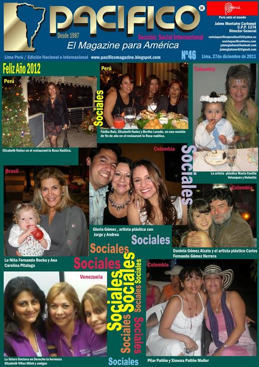 Revista Pacífico Nº 46 Social Internacional