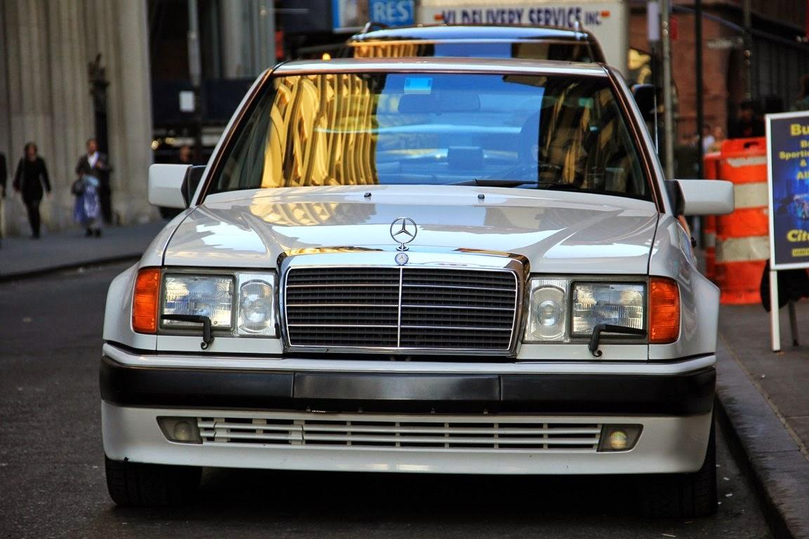Mercedes Benz W124 500e White Benztuning