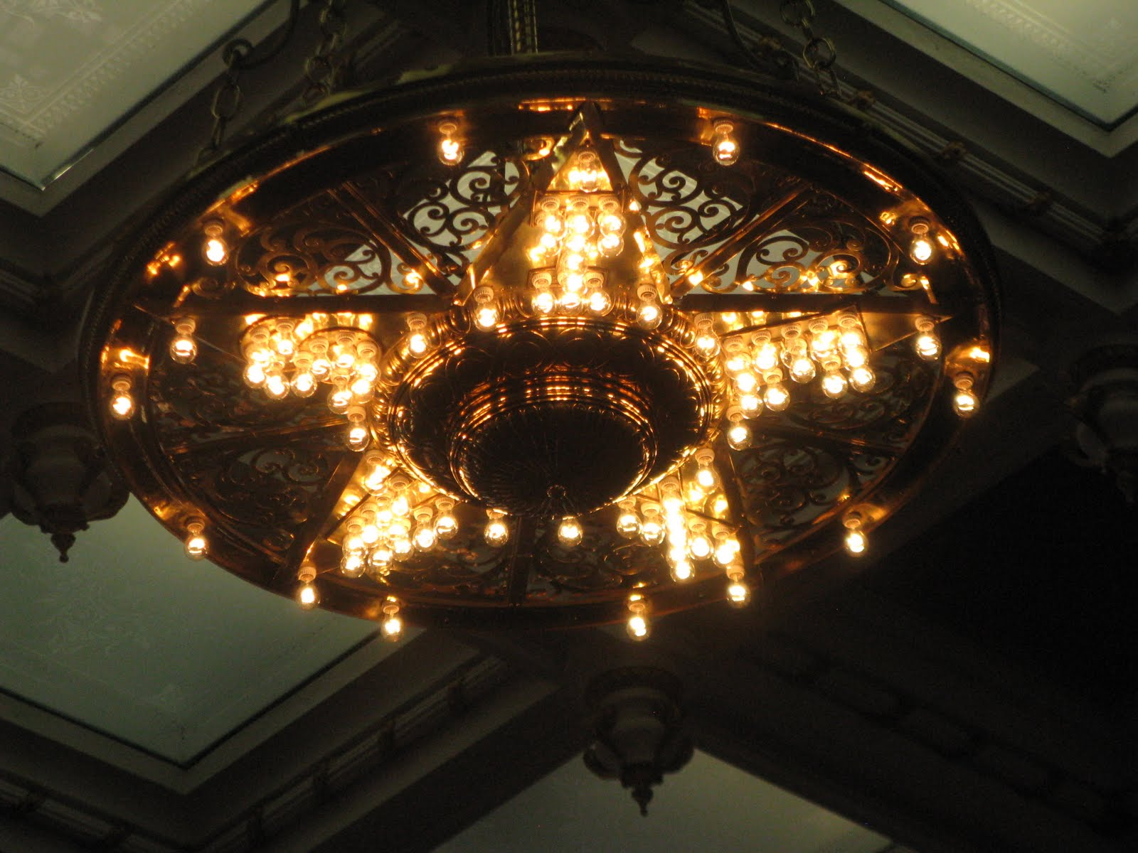 Tarras travels austin texas capitol downtown there are two star shaped chandeliers in the house of representatives the light bulbs in each point of the star spell out t e x a s arubaitofo Choice Image