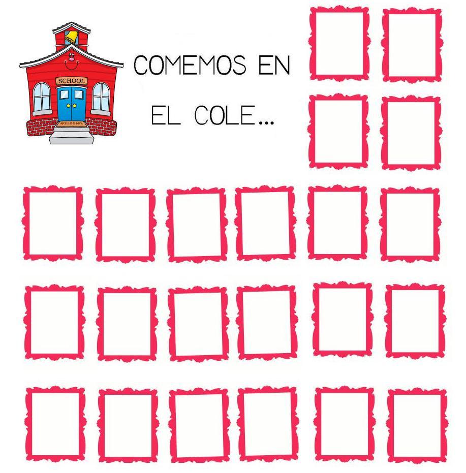 Menta m s chocolate recursos y actividades para for Dibujo de comedor escolar