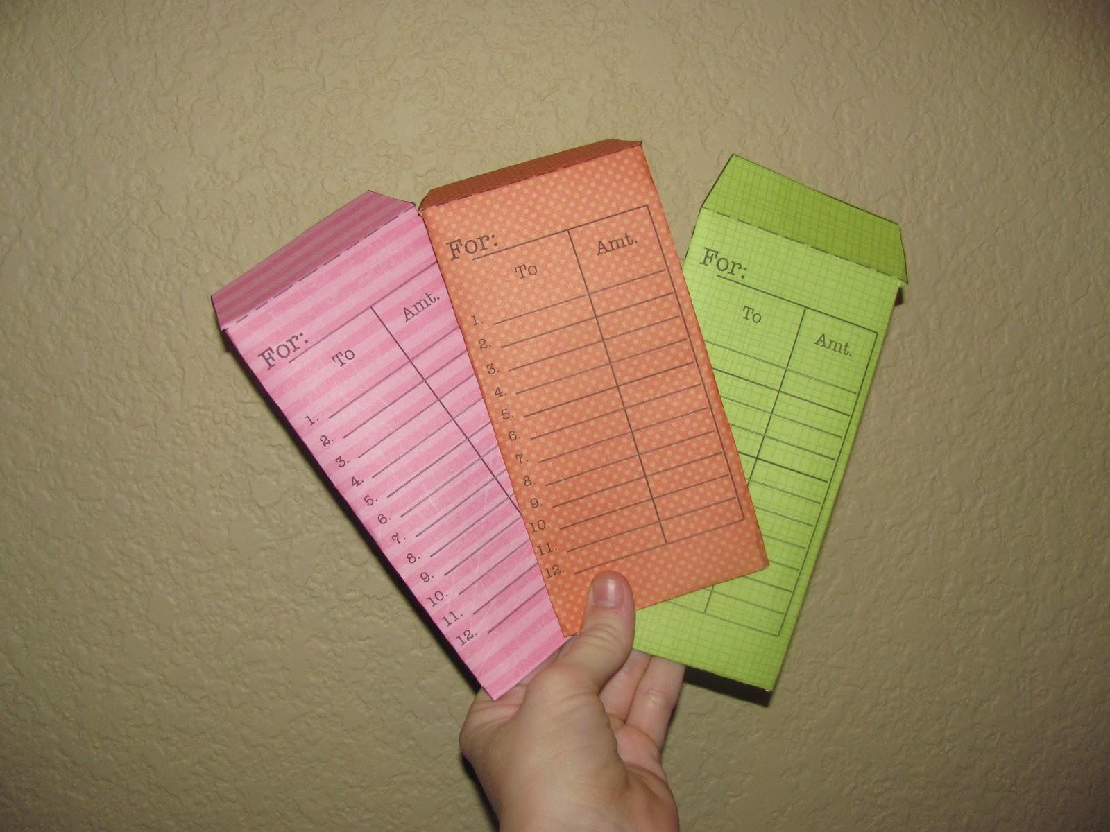 Diy crafts make your own money envelopes for Diy to make money