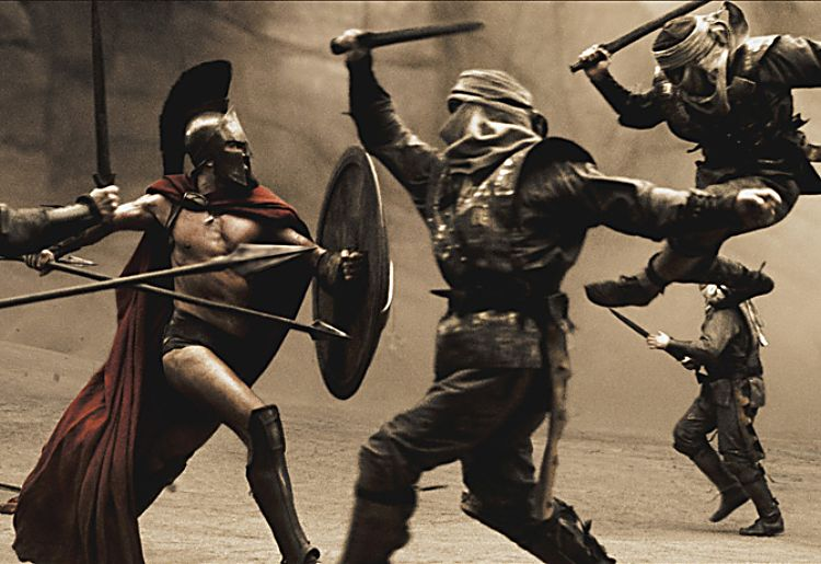 300 spartans (1962) VS 300 spartans (2006) ENG - YouTube