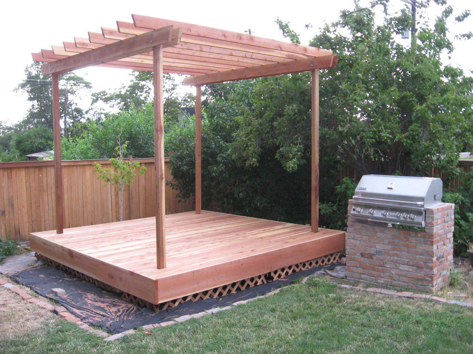 ogden insights how to build a pergola. Black Bedroom Furniture Sets. Home Design Ideas