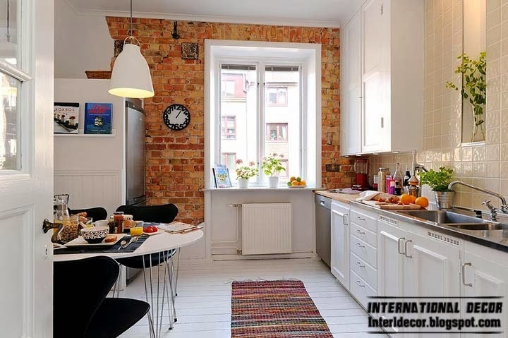 Scandinavian style kitchen, small kitchen designs