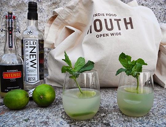 Gastronomista Mouth Indie Foods Cocktail Picnic Ginger Rum Daiquiri Recipe