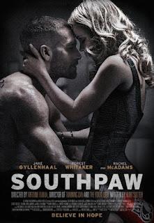 Southpaw starring Jake Gyllenhaal, Rachel McAdams