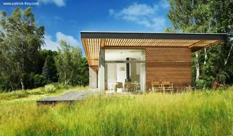 Una casa escandinava