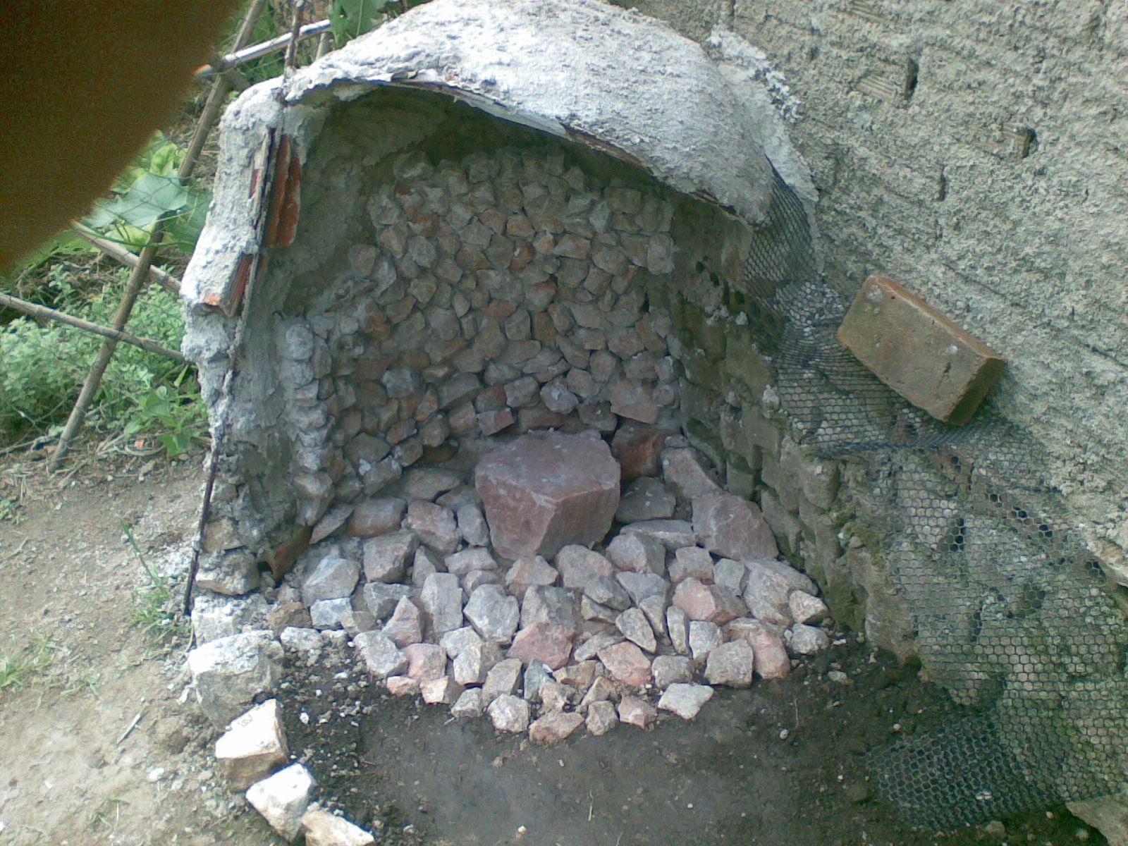 gruta de pedra para jardim : gruta de pedra para jardim:PERMACULTURA URBANA. MODELO DE GRUTA DE JARDIM