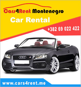 Renta car Montenegro