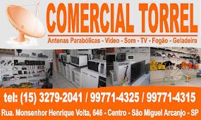 Comercial Torrell Antenas Parabólicas Móveis e Eletro Domésticos