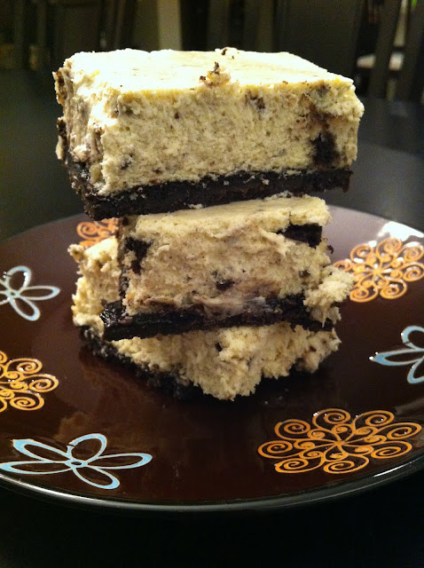 Playing With My Food!: Cookies and Cream Cheesecake Bars