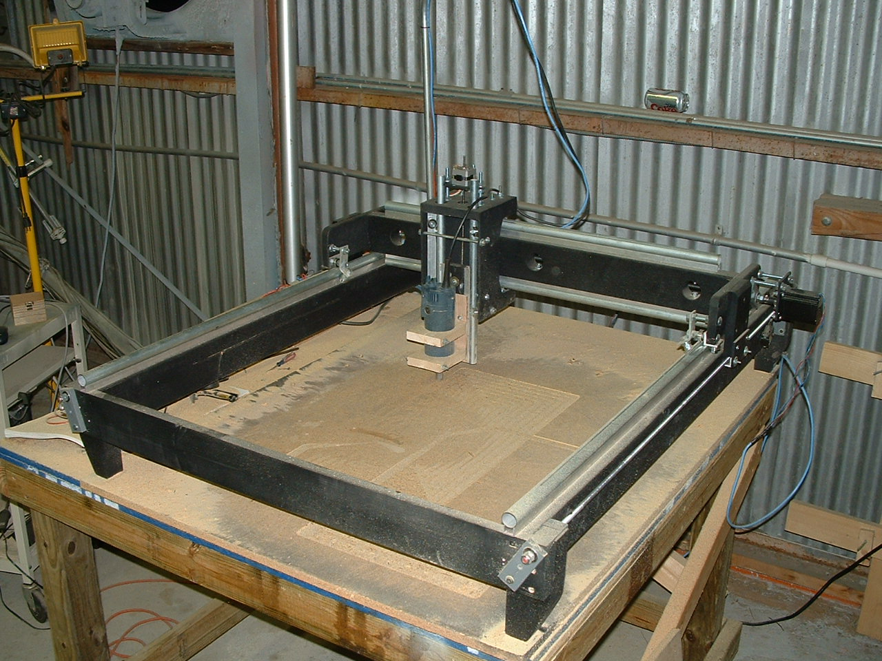 Homemade cnc router car interior design for Home built router