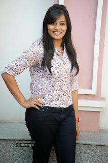 Actress-Tanuja-Naidu-Stills-at-Love-You-Bangaram-First-Look-Logo-Launch
