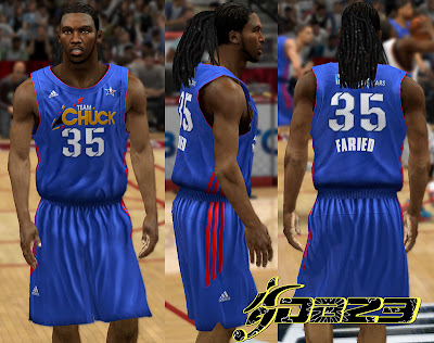 NBA 2K13 Team Chuck Away Jersey Patch