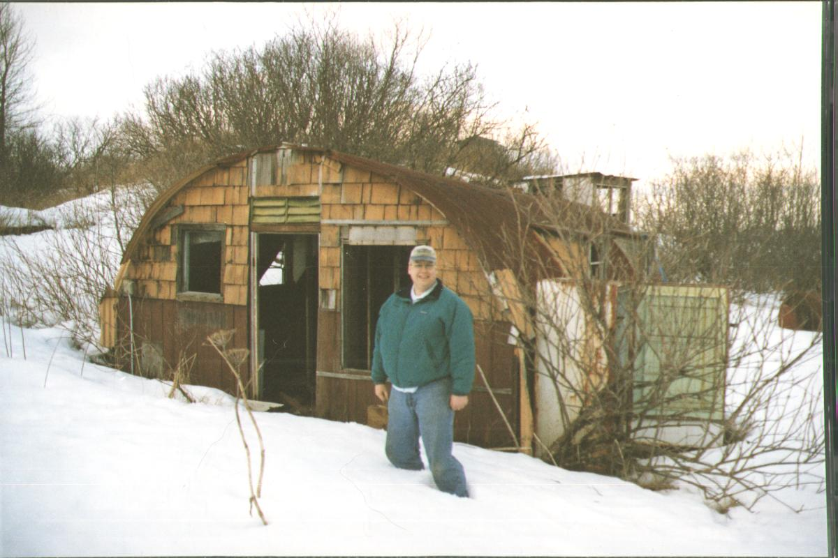 Housing from the past quonset huts archival blog for Quonset hut