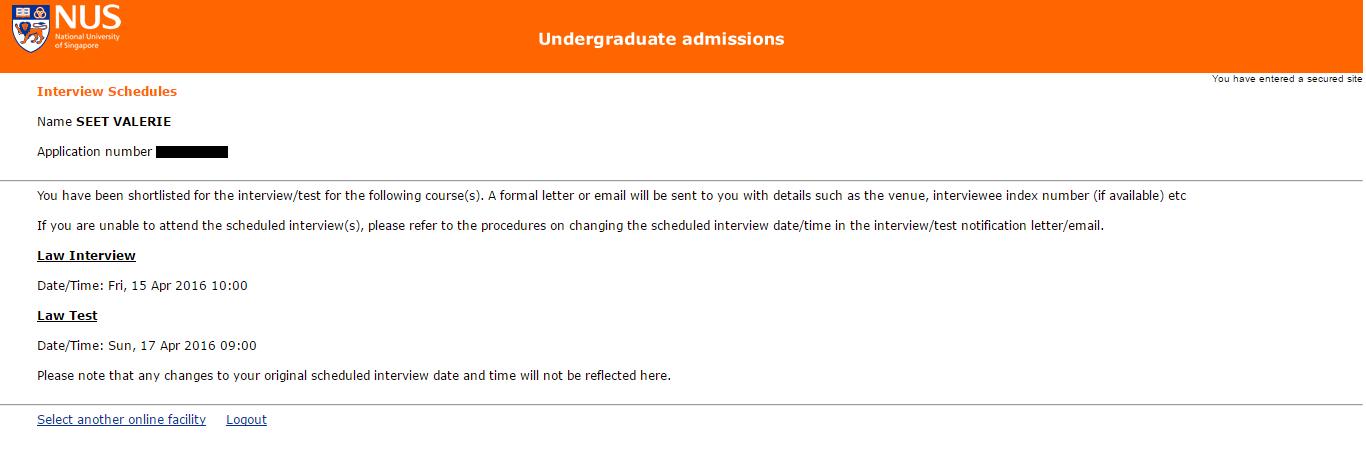 nus law admissions essay
