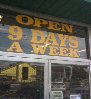 Open how many days a week