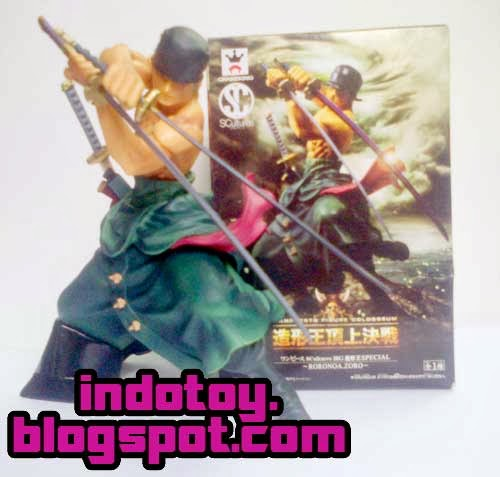 Jual Action Figure One Piece Roronoa Zoro SCulture Banpresto Figure Colosseum