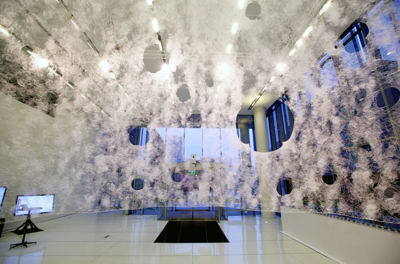 Silk Pavilon, MIT Media Lab, 2013.
