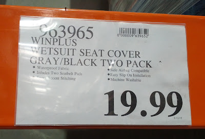 Deal Winplus Wetsuit Seat Covers at Costco