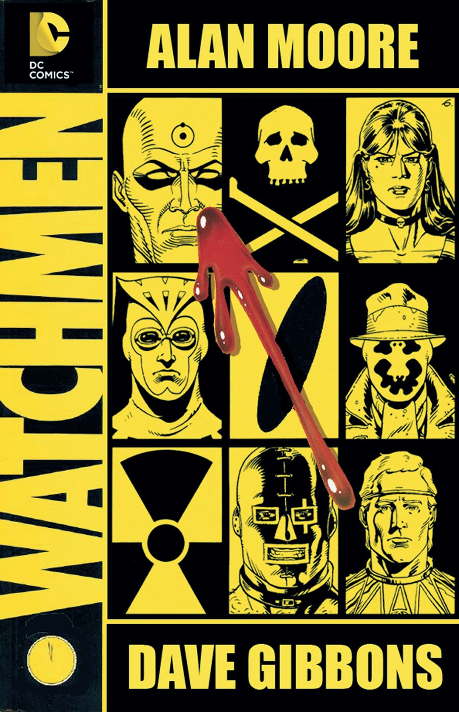 Watchmen cover, courtesy of Manga Sanctuary