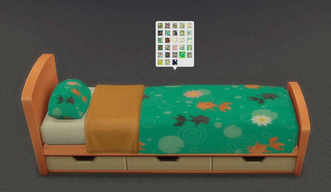 My sims 4 blog kids bed frames and bedding separate by for Kids bed frames