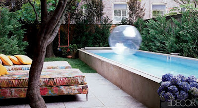 Piscinas para espacios peque os ideas para decorar - Adornos para piscinas ...