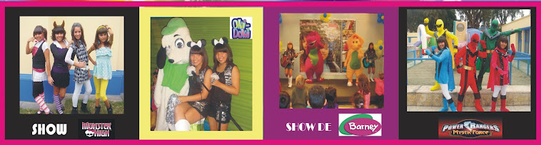 SHOWS TEMATICOS