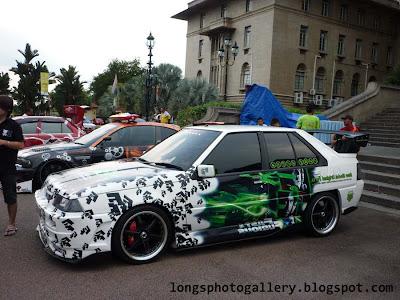 Modified Iswara saga lmst autoshow