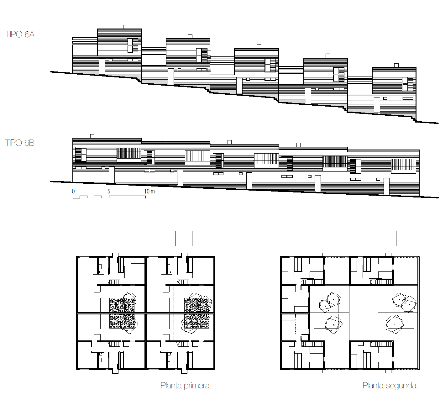 Good Further Documentation: Here Are Elevations Of The Patio Houses, Together  With The Plans, From Los Brillantes Años 50: