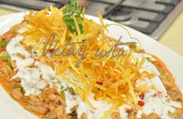Sebzeli Tavuklu Çökertme Kebabı Tarifi
