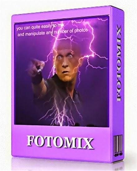 برنامج تحرير ودمج الصور وإضافة المؤثرات FotoMix
