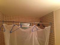Galjar för att hålla duschdraperi?