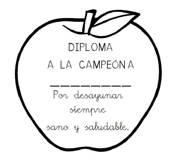 Menta Más Chocolate - RECURSOS PARA EDUCACIÓN INFANTIL: Diplomas ...