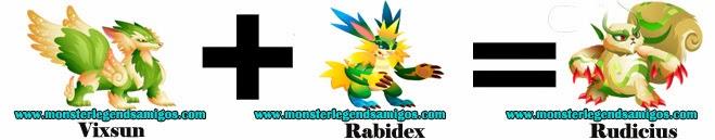 como obtener el monster rudicius en monster legends formula 2