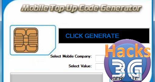 Idea recharge coupon generator software
