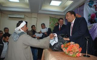 محافظ سوهاج يشهد حفل خيري بمسجد الصحابة