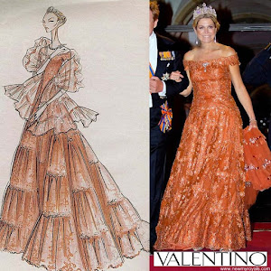 Queen Maxima Style VALENTINO Dress