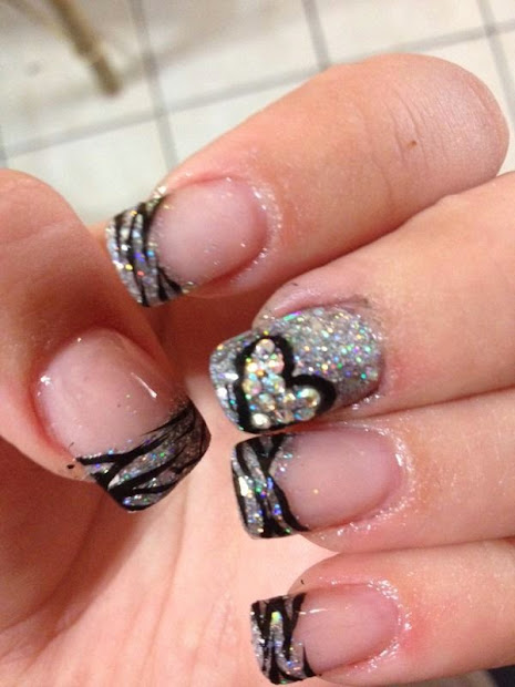 nail design french tip