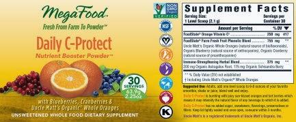 megafood vitamin c nutrient blend