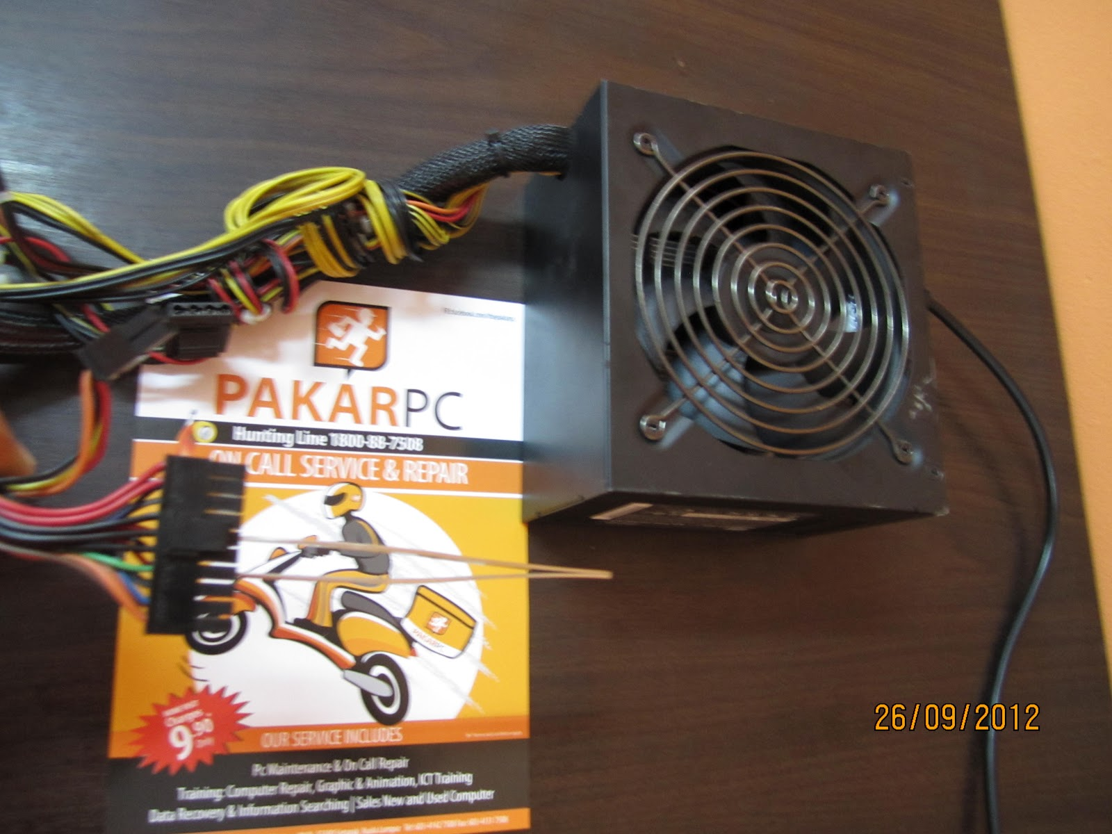 Test Power Supply Unit condition without attach to Motherboard ...