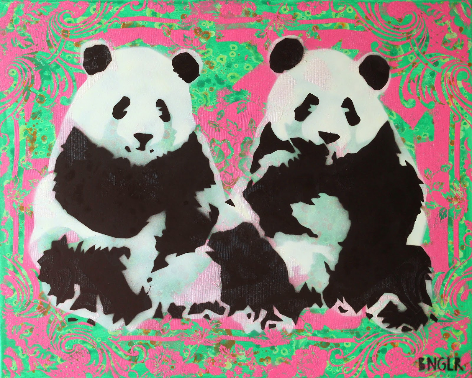 How To Paint A Panda Bear On Canvas