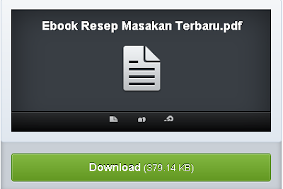 Ebook Resep Masakan