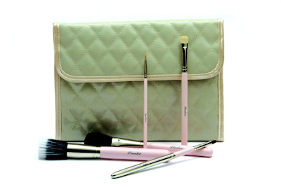 The Vintage Cosmetic Company Brush Roll Set Launch