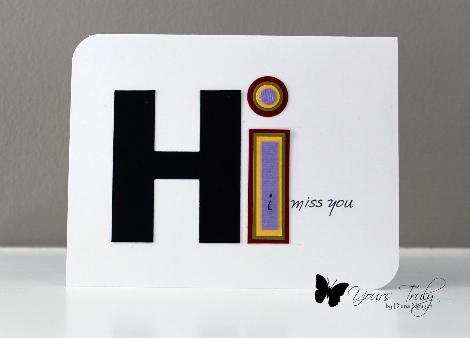 Diana Nguyen, CAS, handmade cards