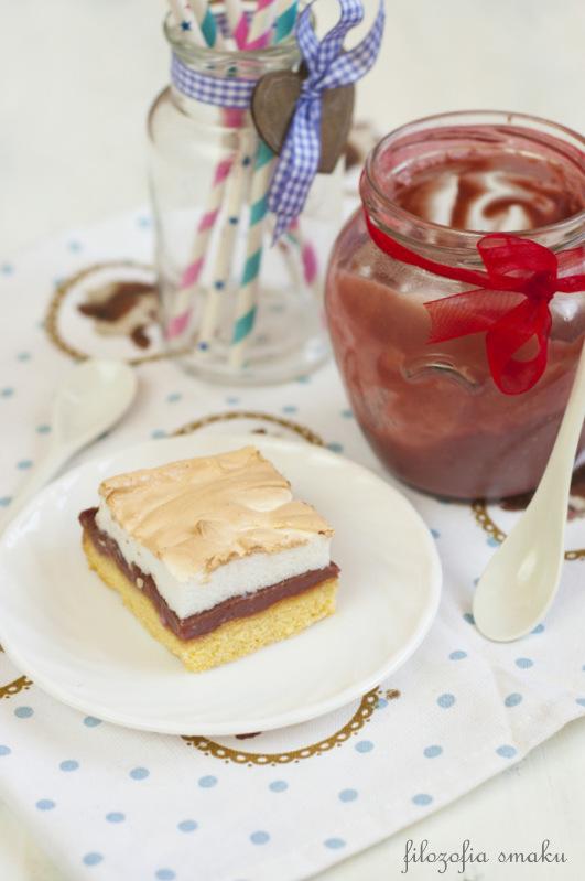 Ciasto z bezą przepis