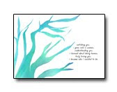 becoming (greeting card)