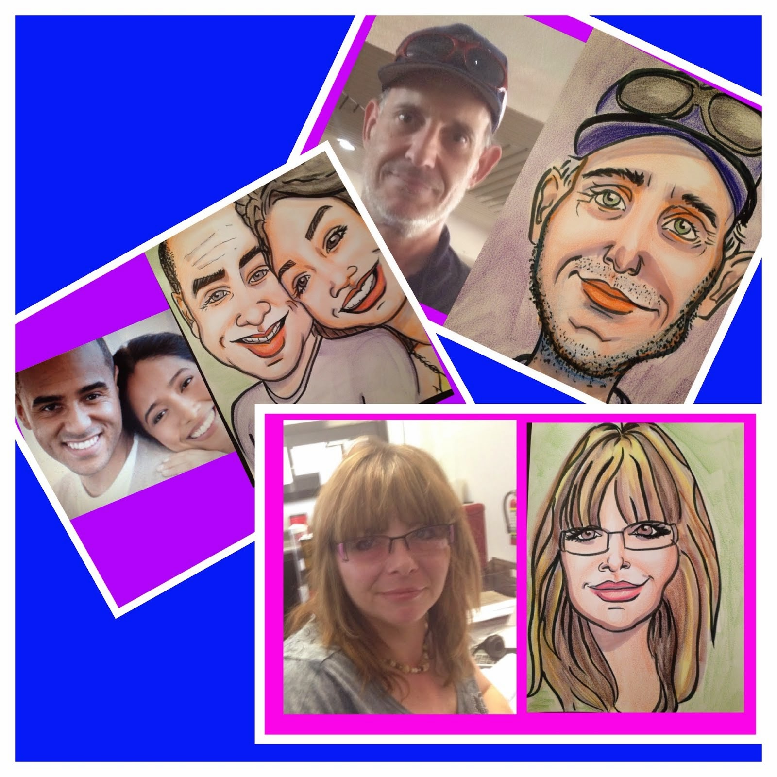 WE DO CARICATURE FOR ALL YOUR SPECIAL OCCASIONS!