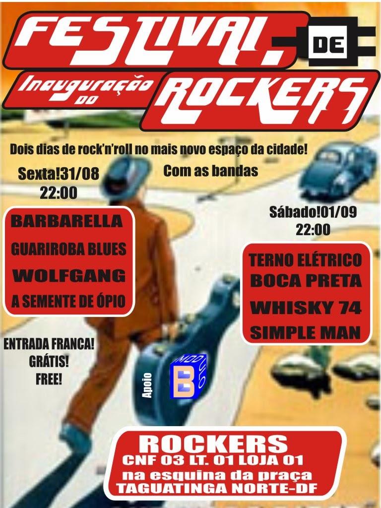 FESTIVAL DE ROCKERS